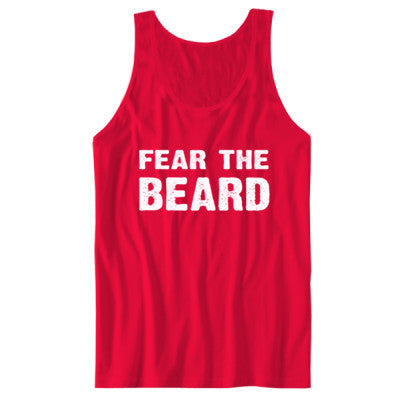 Fear The Beard Tshirt - Unisex Jersey Tank - Cool Jerseys - 1