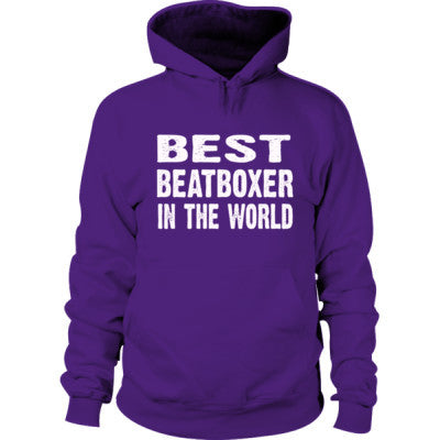 Best Beatboxer In The World - Hoodie S-Purple- Cool Jerseys - 1