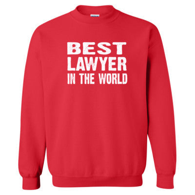 Best Lawyer In The World - Heavy Blend™ Crewneck Sweatshirt - Cool Jerseys - 1