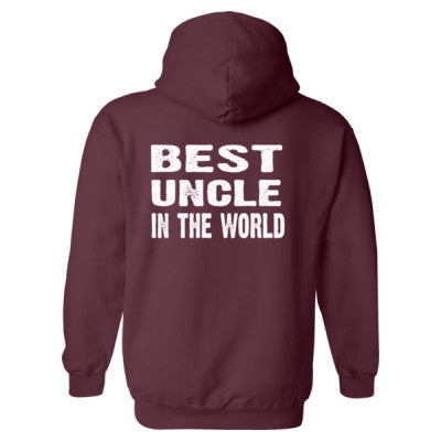 Best Uncle In The World - Heavy Blend™ Hooded Sweatshirt BACK ONLY S-Maroon- Cool Jerseys - 1