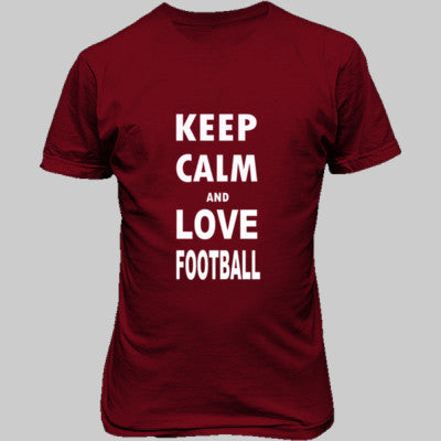 Keep Calm And Love Football - Cool Jerseys - 1