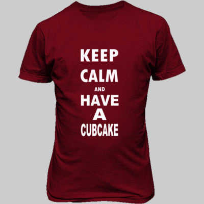 Keep Calm And Have A Cubcake - Unisex T-Shirt FRONT Print - Cool Jerseys - 1