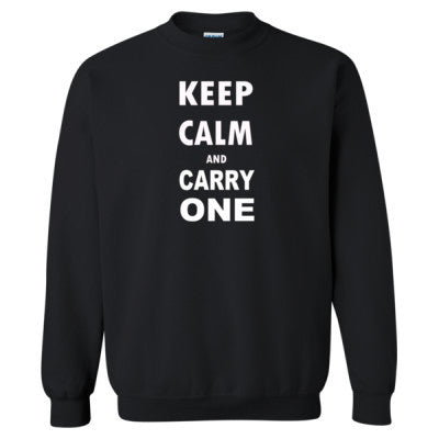 Keep Calm and Carry One - Heavy Blend™ Crewneck Sweatshirt - Cool Jerseys - 1