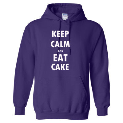 Keep Calm And Eat Cake - Heavy Blend™ Hooded Sweatshirt - Cool Jerseys - 1