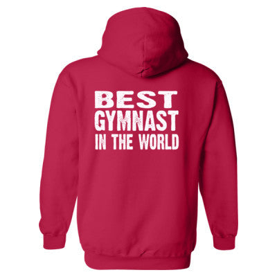 Best Gymnast In The World - Heavy Blend™ Hooded Sweatshirt BACK ONLY S-Cherry Red- Cool Jerseys - 1