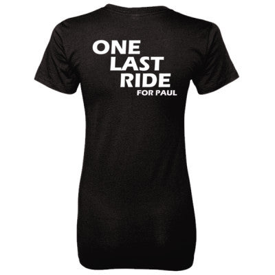 Fast and Furious Tshirt - Ladies' 100% Ringspun Cotton nano-T® Back Print Only S-Black- Cool Jerseys - 1