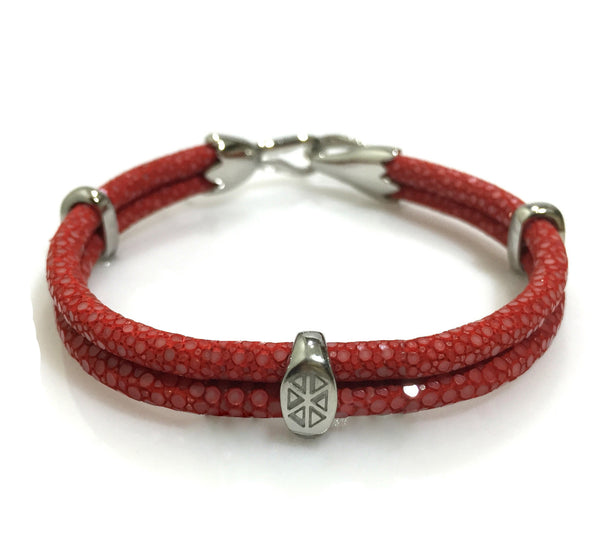Stingray Leather Bracelet -  S209/B