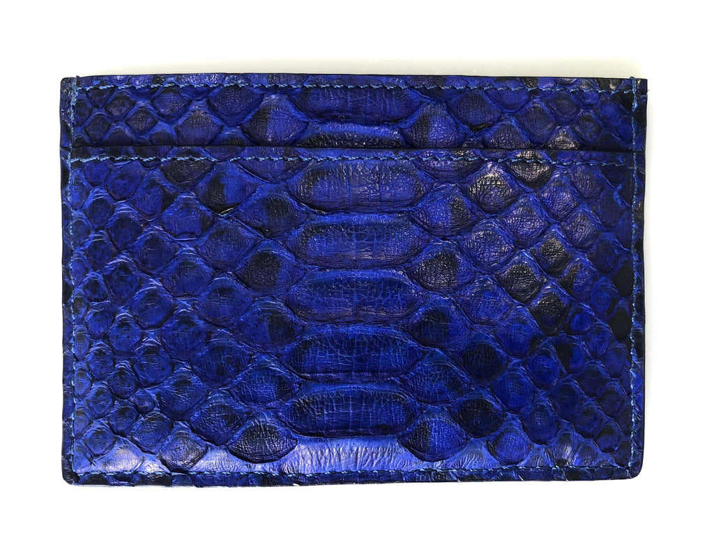 Blue Python Card Holder