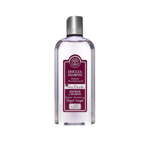 Gel douche et shampoing au raisin royal
