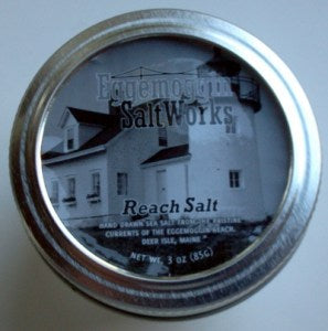 Maine Sea Salt from the Eggemoggin Salt Works