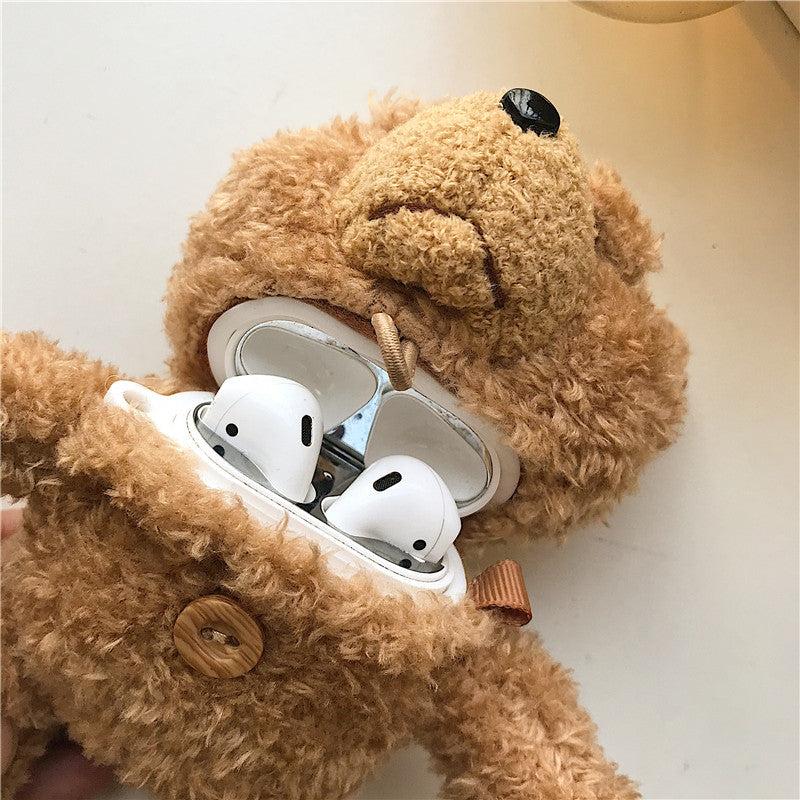 Teddy Bear Protective Cover for AirPods Pro Case