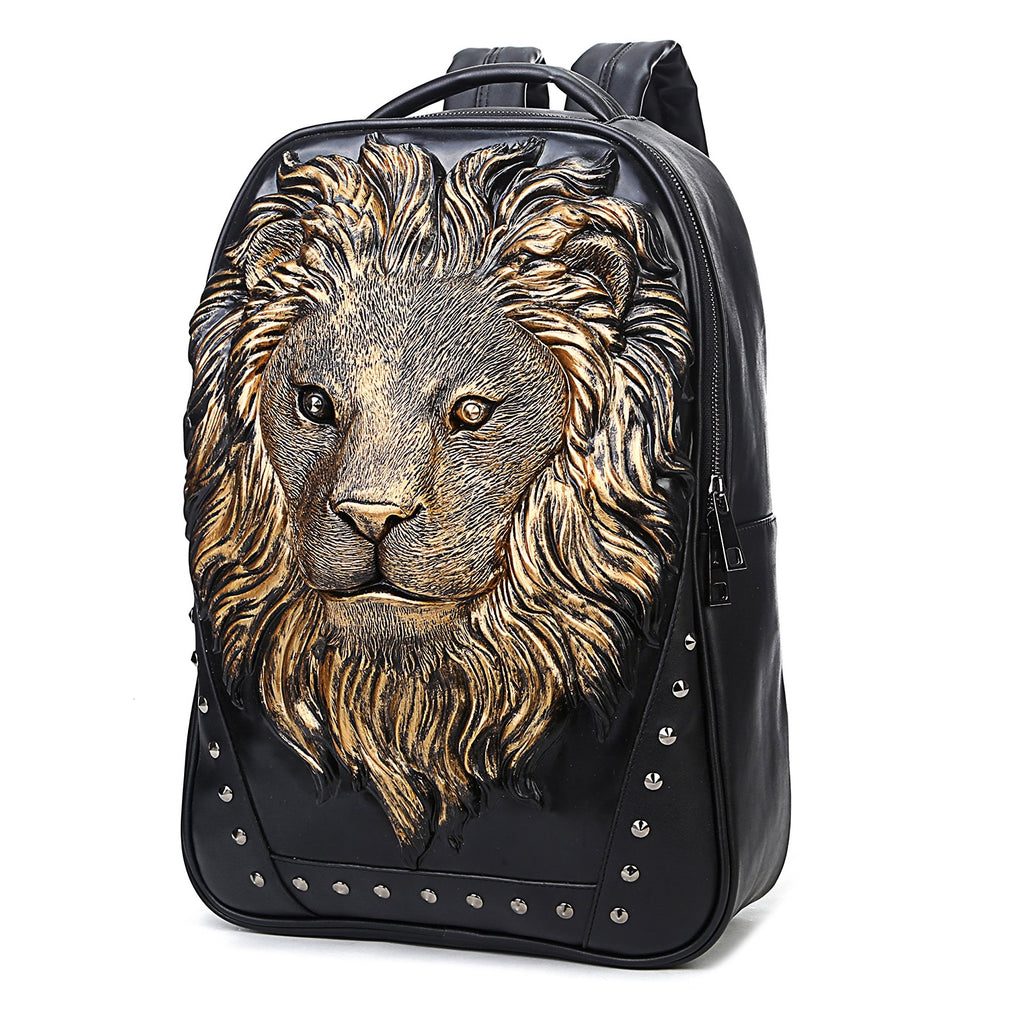 3D ANIMAL CARVING LAPTOP BACKPACK