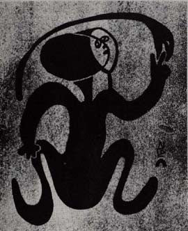 Figure with Serpent