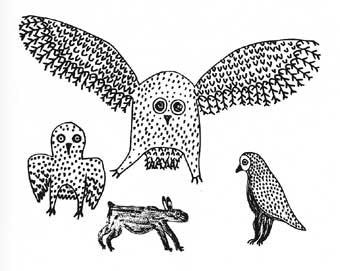Owls and Rabbit