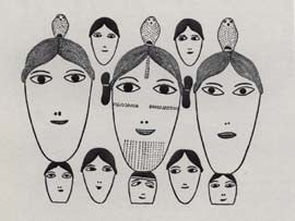Inuit Faces