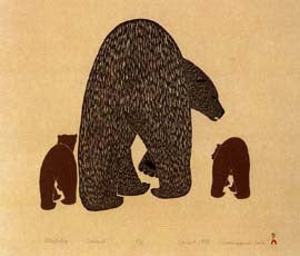 Attiqtaliq (Bear with Cubs)