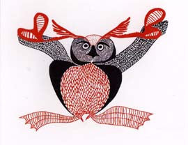 Uppiruqpalliajuk (Transforming to an Owl)