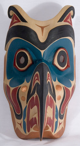 Thunderbird Mask by Alison Kewistep