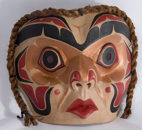 Copper Woman Mask by Alison Kewistep
