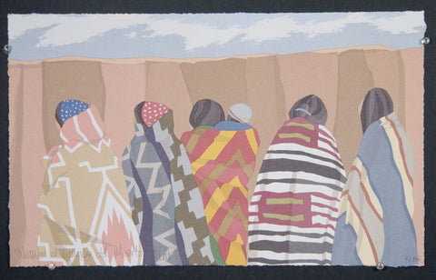 Women of Canyon del Muertoóprint by Irene Klar