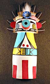 Southwest Kachina Wall Hanging