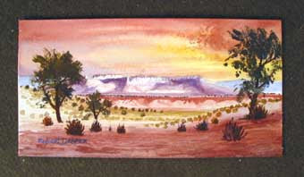 Southwest Navajo Painting