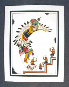 Southwest Hopi Painting