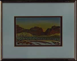Southwest Painting by Benson Halwood