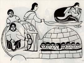 Qiviuq Spits on the Evil Woman