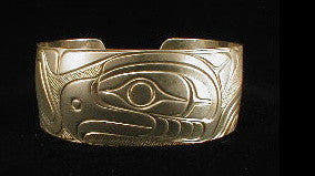 Sterling silver bracelet with traditional tribal designs
