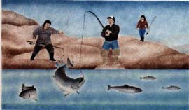 Fishing At Ingalik
