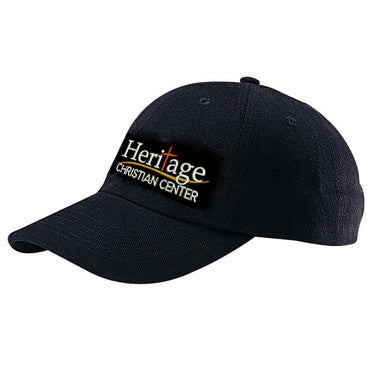 Heritage Christian Center Black Ball Cap