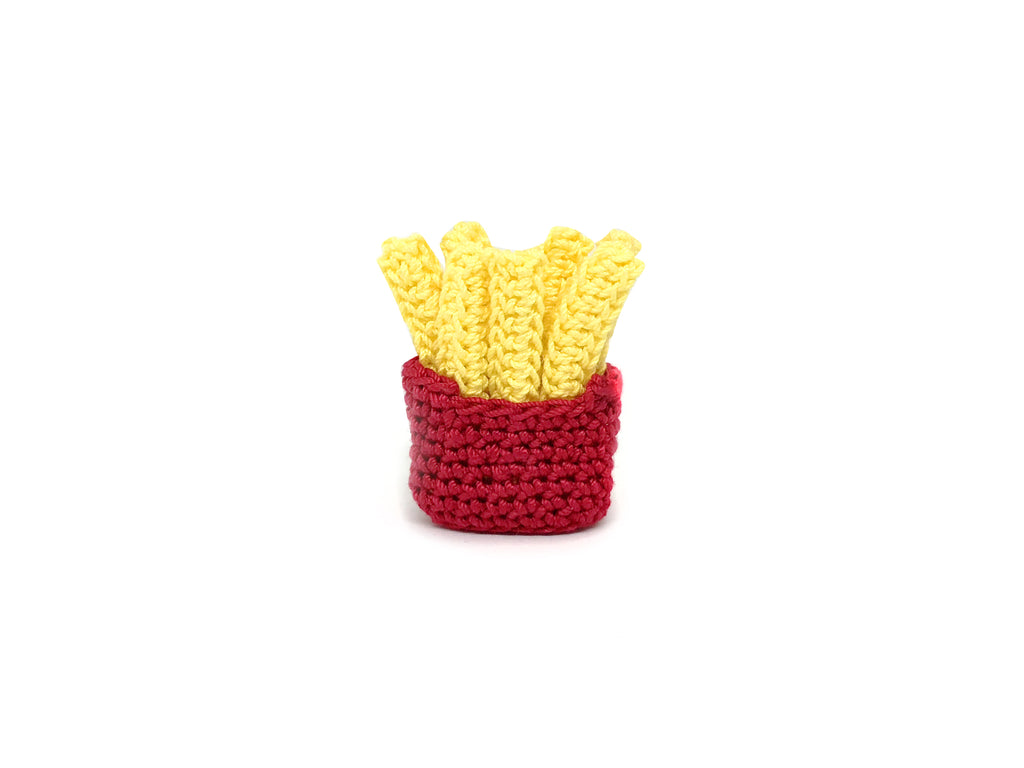 Crochet Fries Pin *made upon order*