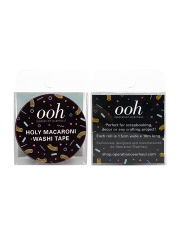 Holy Macaroni Washi Tape