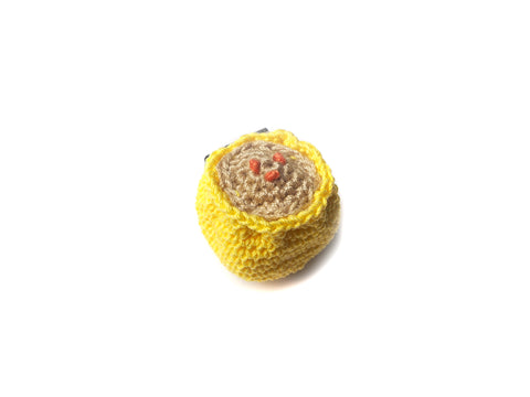 Crochet Siew Mai Pin *Made upon order*