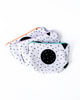 Speckled Shapes Pouch with Mint Zipper