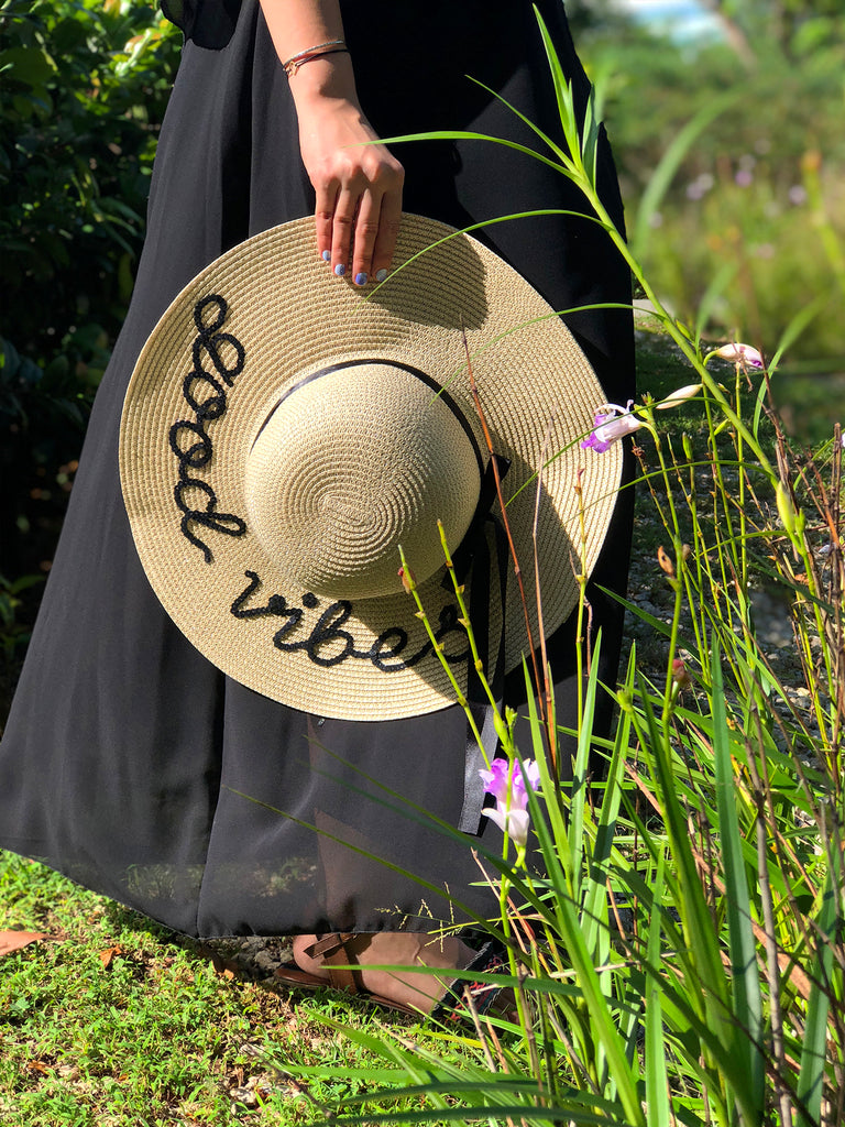 Sand Sun Hat - Personalised Text