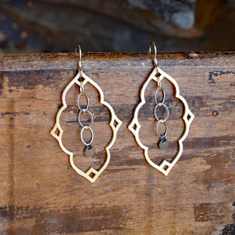 Amy Wells Designs Moroccan Hoop Earrings