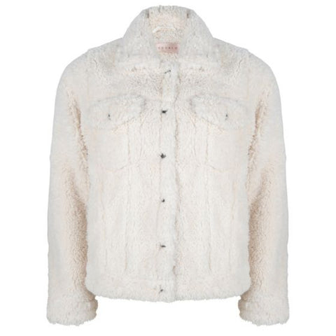 EsQualo Faux Fur Jacket