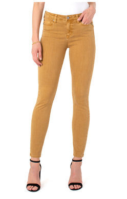 Liverpool Abby Skinny 30' Inseam Toasted Wheat