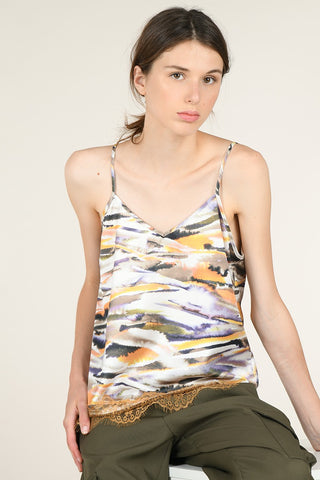 Molly Bracken Print Cami Top