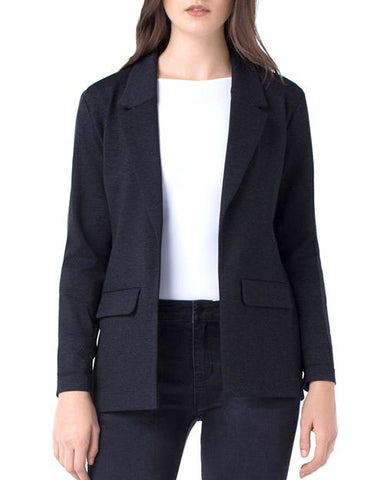 Liverpool Boyfriend Blazer in Charcoal