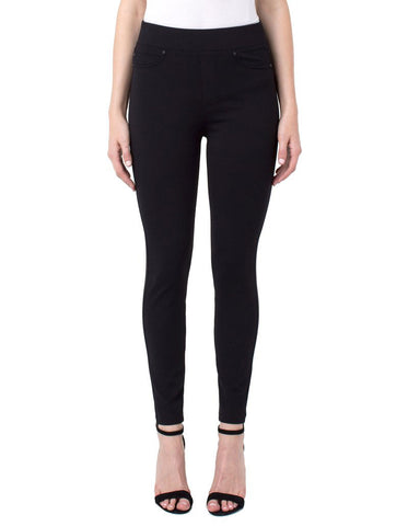 Liverpool Sienna Pull-On Legging in Black