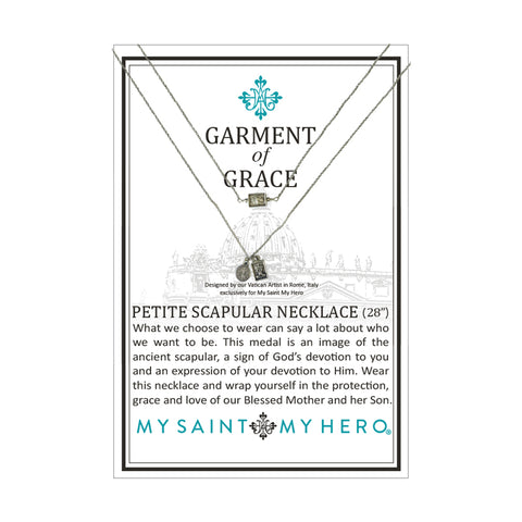 My Saint My Hero Garment of Grace Petite Spectacular Necklace