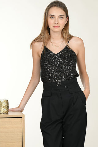 Molly Bracken Sequined Camisole