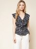 Sugarlips Floral Ruffle Top