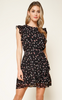 Sugarlips Floral Ruffle Dress