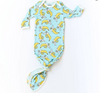Little Sleepies Banana Bamboo Infant Knotted Gown