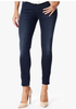 "THE SKINNY CROP IN WHISKERED MEDIUM DARK (26"" INSEAM) BY 7 FOR ALL MANKIND"