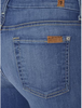 "THE SLIM ILLUSION ANKLE SKINNY CONTOUR IN ATMOSPHERE BLUE (28"" INSEAM) BY 7 FOR ALL MANKIND"